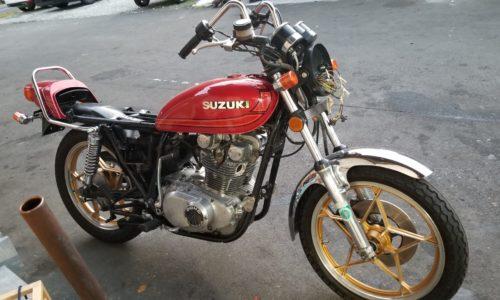 旧車買取 静岡市 バイク買い取り GS400
